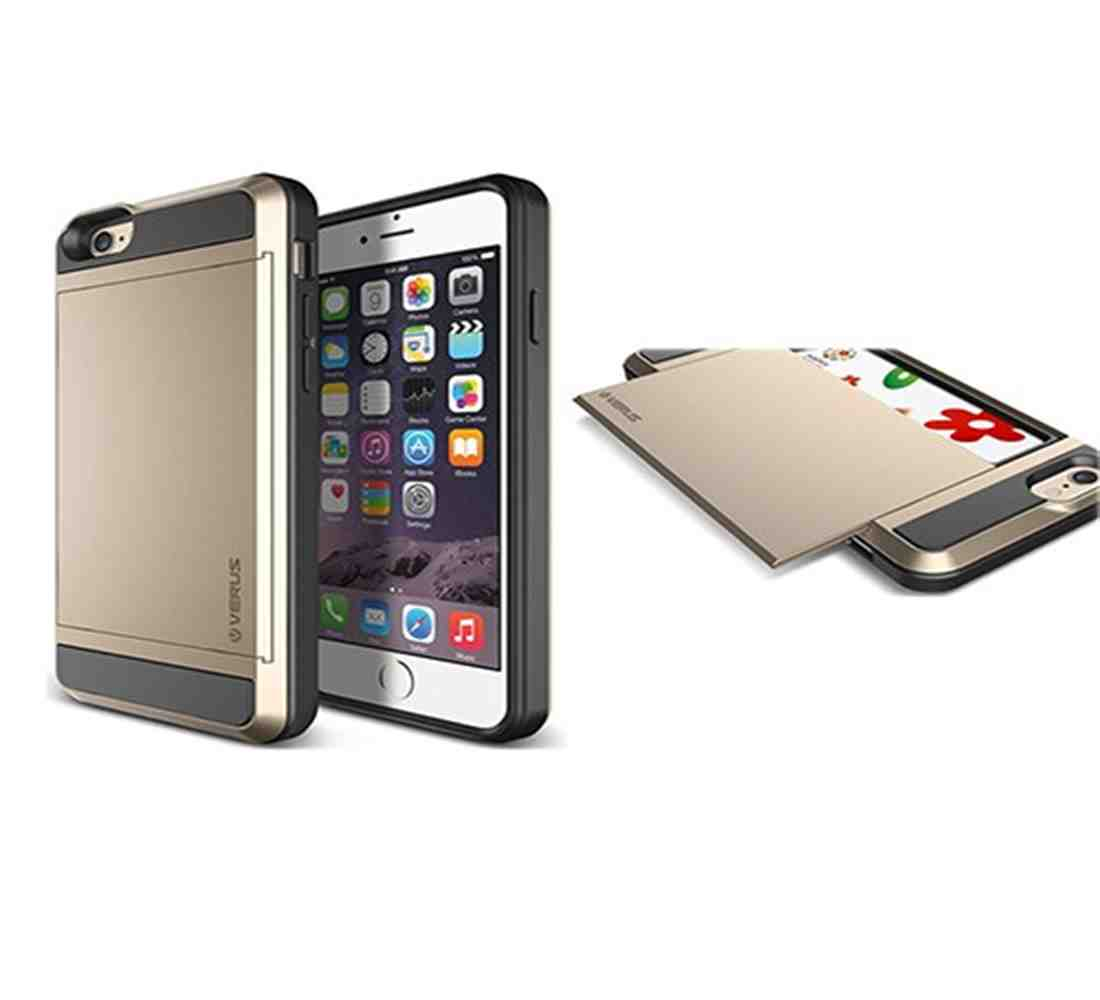 quality design 153c1 eff72 Verus Damda Slide Case for iPhone 6 Plus - Shine Gold| Blink Kuwait