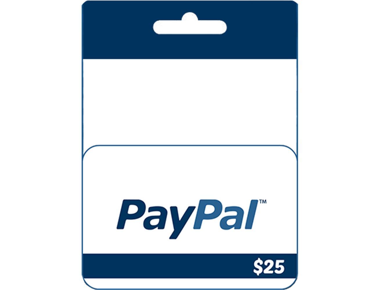 PayPal Prepaid Card $25| Blink Kuwait