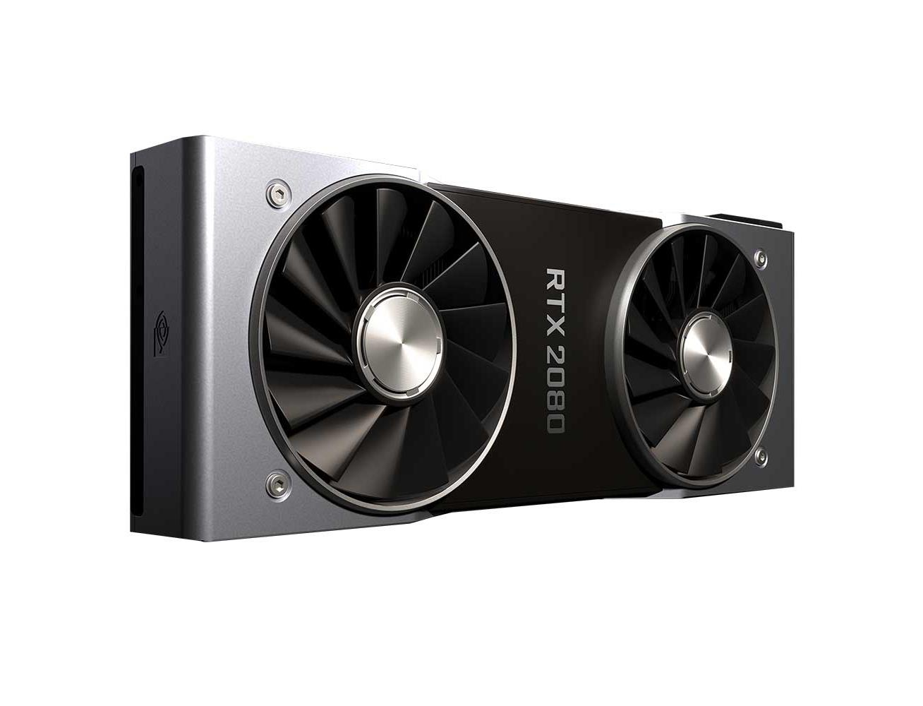 NVidia GeForce RTX 2080 Founders Edition Graphics Card 8GB