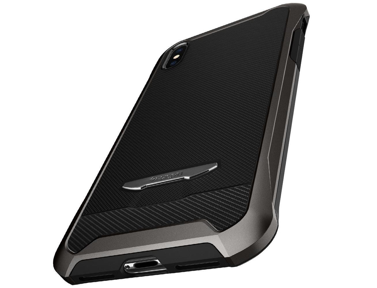 best service b10d2 5e255 Spigen Reventon Case for iPhone X/XS - Gunmetal| Blink Kuwait