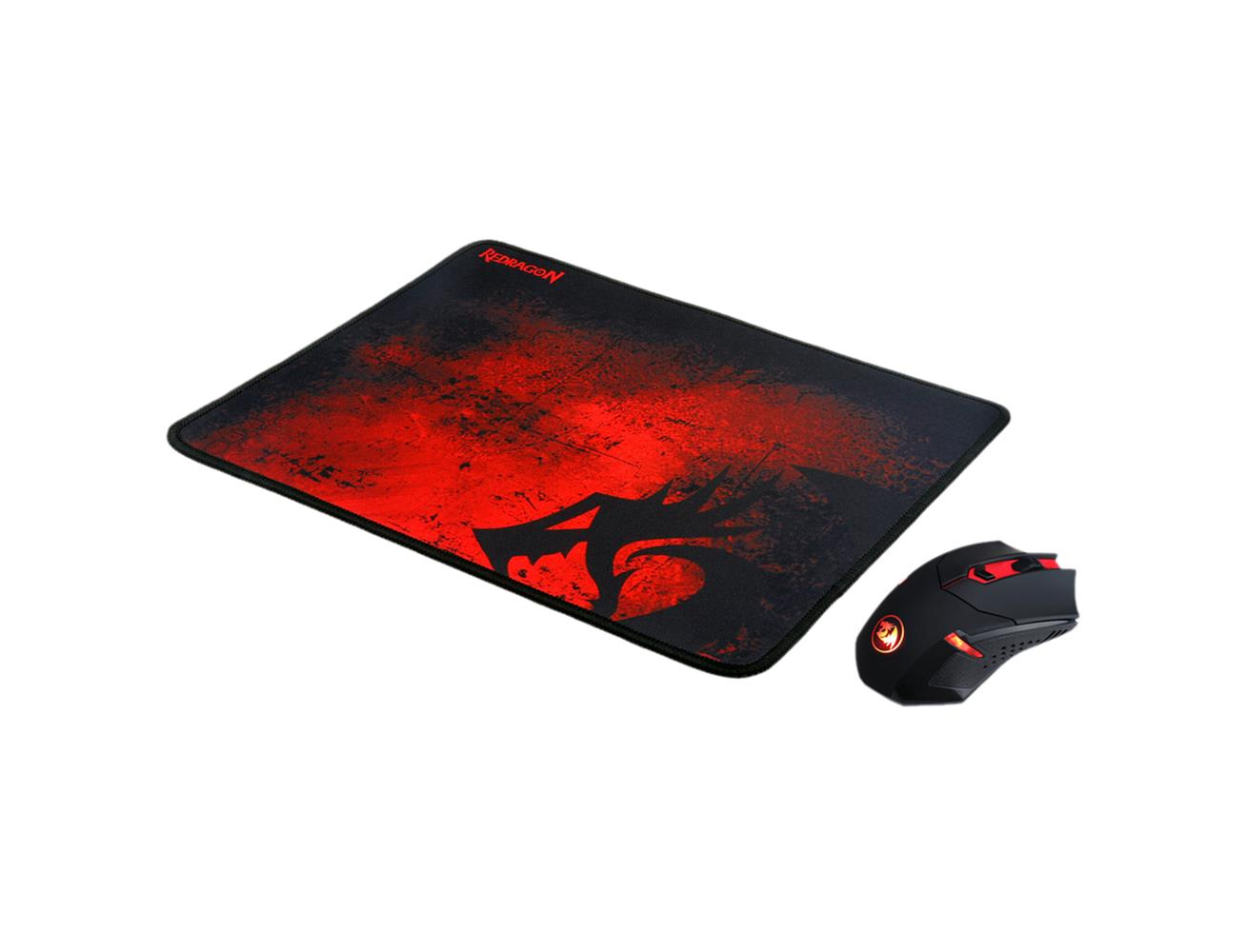 Redragon M601-WL-BA Wireless Gaming Mouse and Mouse Pad