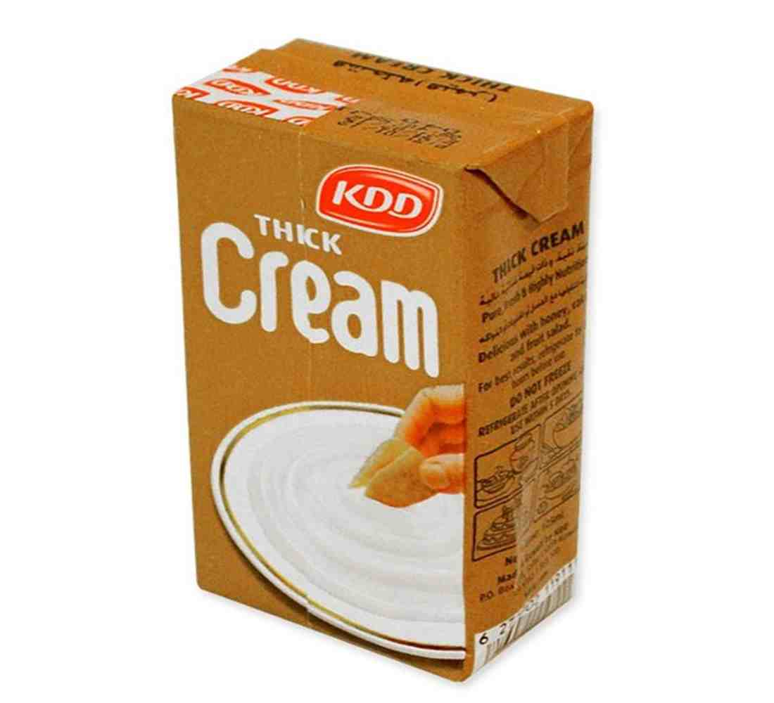 KDD Thick Cream 250ml Pure, Fresh & Highly Nutritious