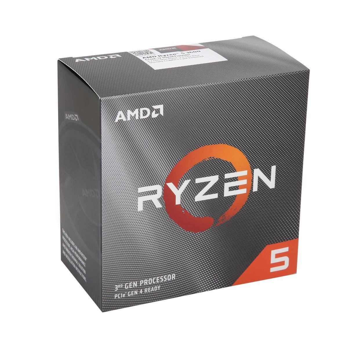 AMD RYZEN 5 3600 6-Core 3 6 GHz TURBO BOOST 4 2 GHz| Blink