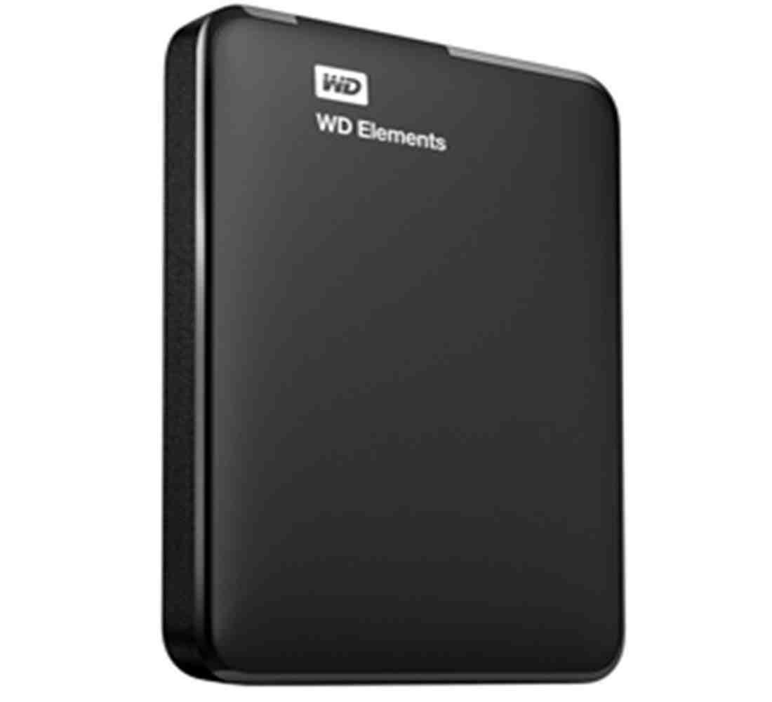 WD Elements 2 TB USB 3 0 Portable Hard Drive For PC & Mac - Black