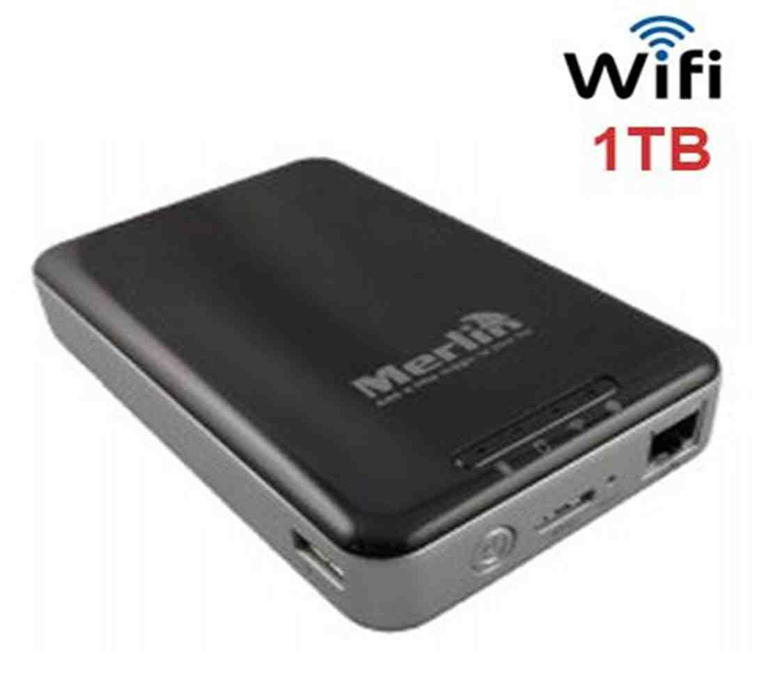 Merlin WIFI Storage 1TB Portable Wireless Hard Drive For All Smartphone ...  sc 1 st  Blink & Merlin WIFI Storage 1TB Portable Wireless Hard Drive For All ...