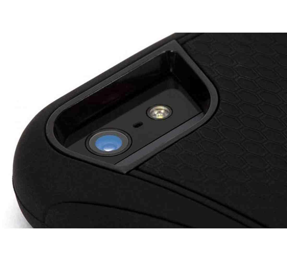 finest selection 44cc4 1d205 Griffin GB35564-2 Survivor Slim Cover for iPhone SE/5S/ 5 - Black ...