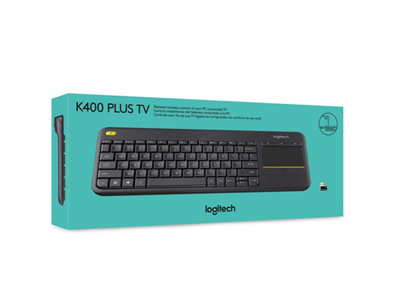 80c571c52ca ... Logitech Wireless Keyboard K400 Plus with Touchpad for Smart TV & PC