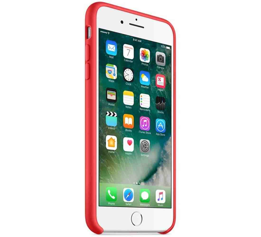 reputable site dd75d 7fdfb Apple Silicone Case for iPhone 7 Plus - Red| Blink Kuwait