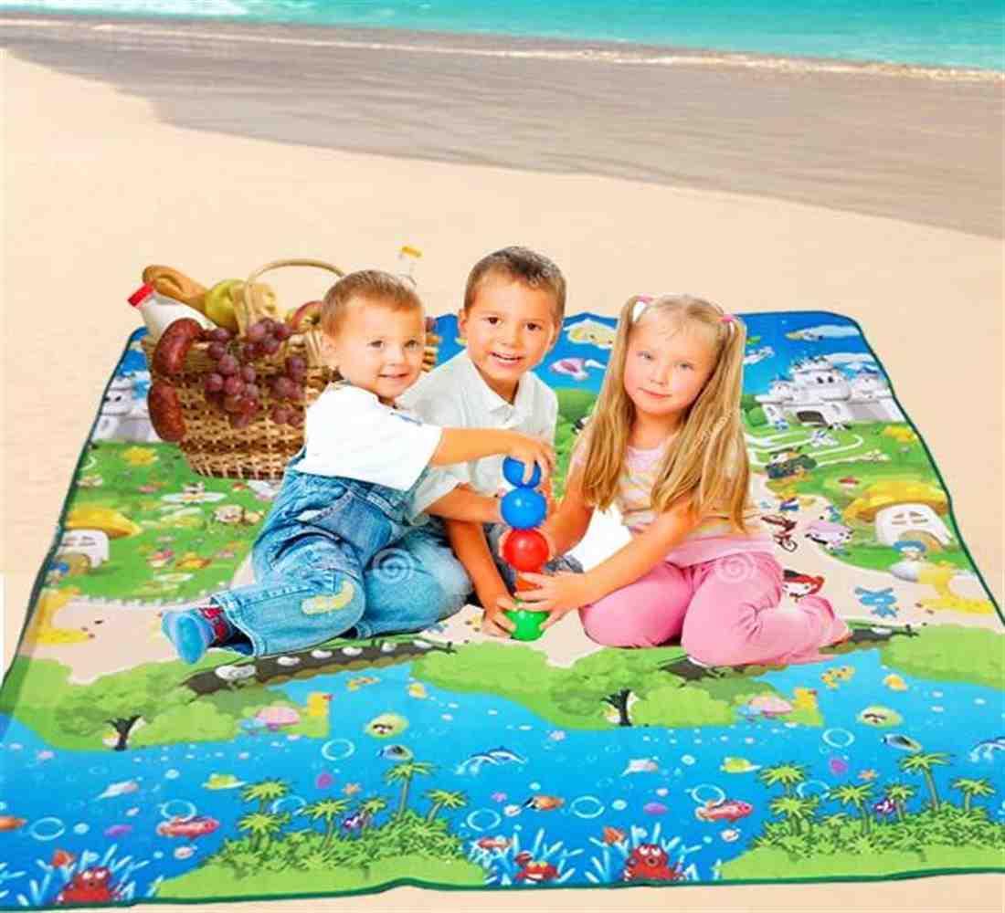 Buy Kids Designed Foldable Mattress Mat Pad Waterproof Outdoor Camping Mat Online In Kuwait Best Price At Blink Blink Kuwait