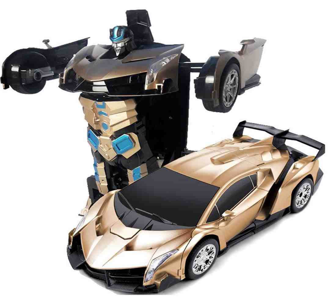 Transfomer Force Ares Rc Car Radion Control Deform Robot With Remote