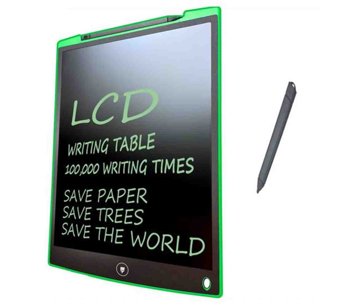 Writing Tablet Lcd Drawing Board Gifts For Kids Office Memo Green