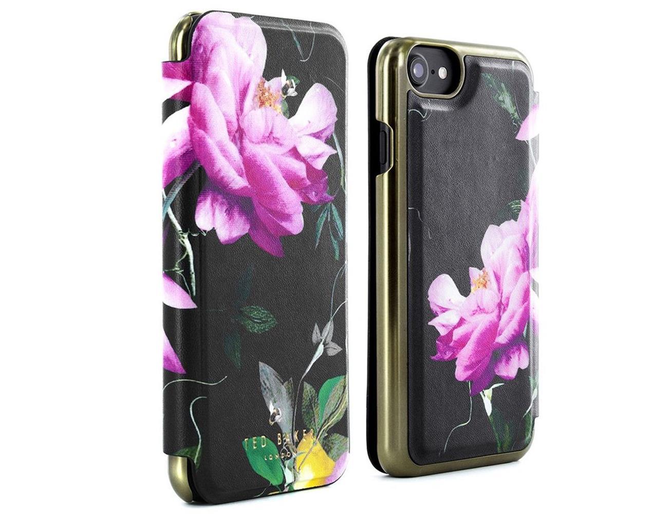 3ddd53f9863c6 Proporta PRO-41816 iPhone 7 Ted Baker Mirror Case - Bloom Black ...