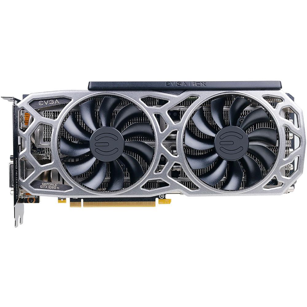 EVGA NVIDIA GeForce GTX 1080 Ti SC2 Gaming Graphics Card| Blink Kuwait