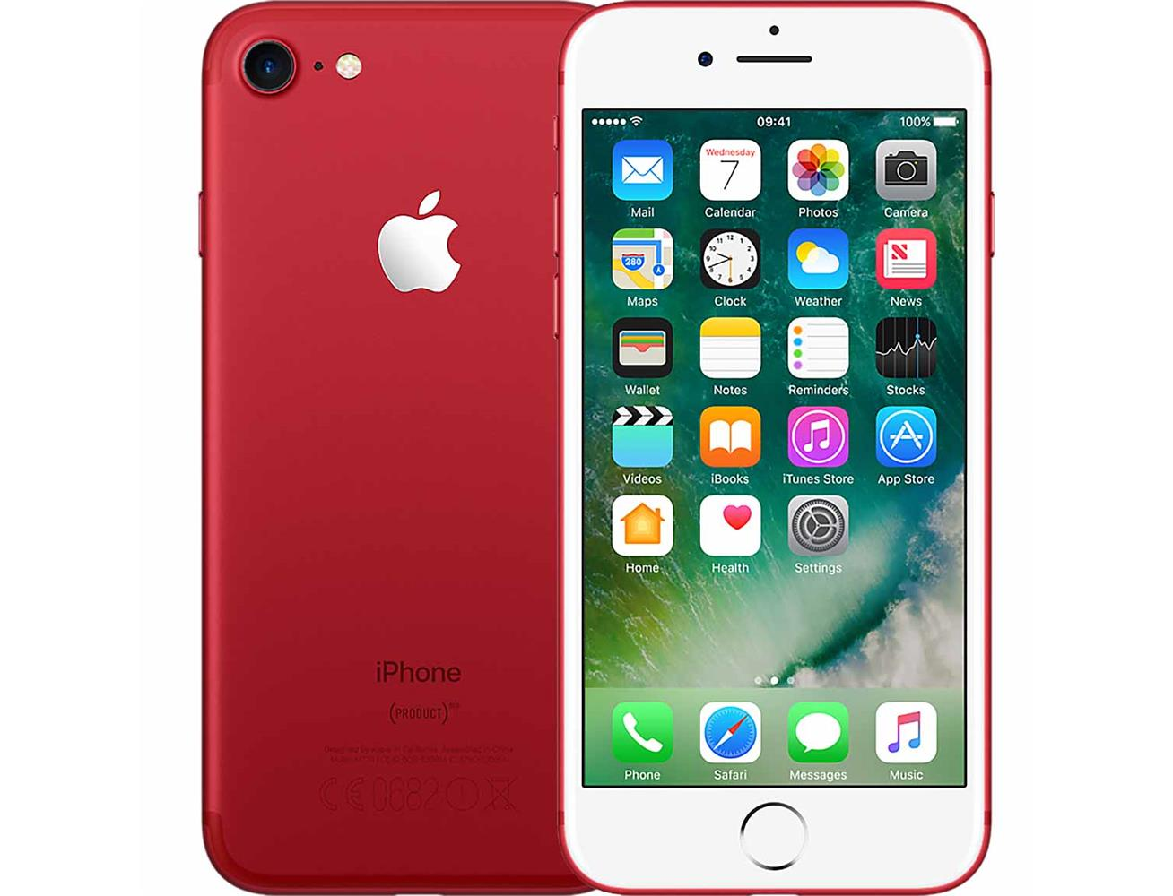 Apple iPhone 7 128GB - Red| Blink Kuwait