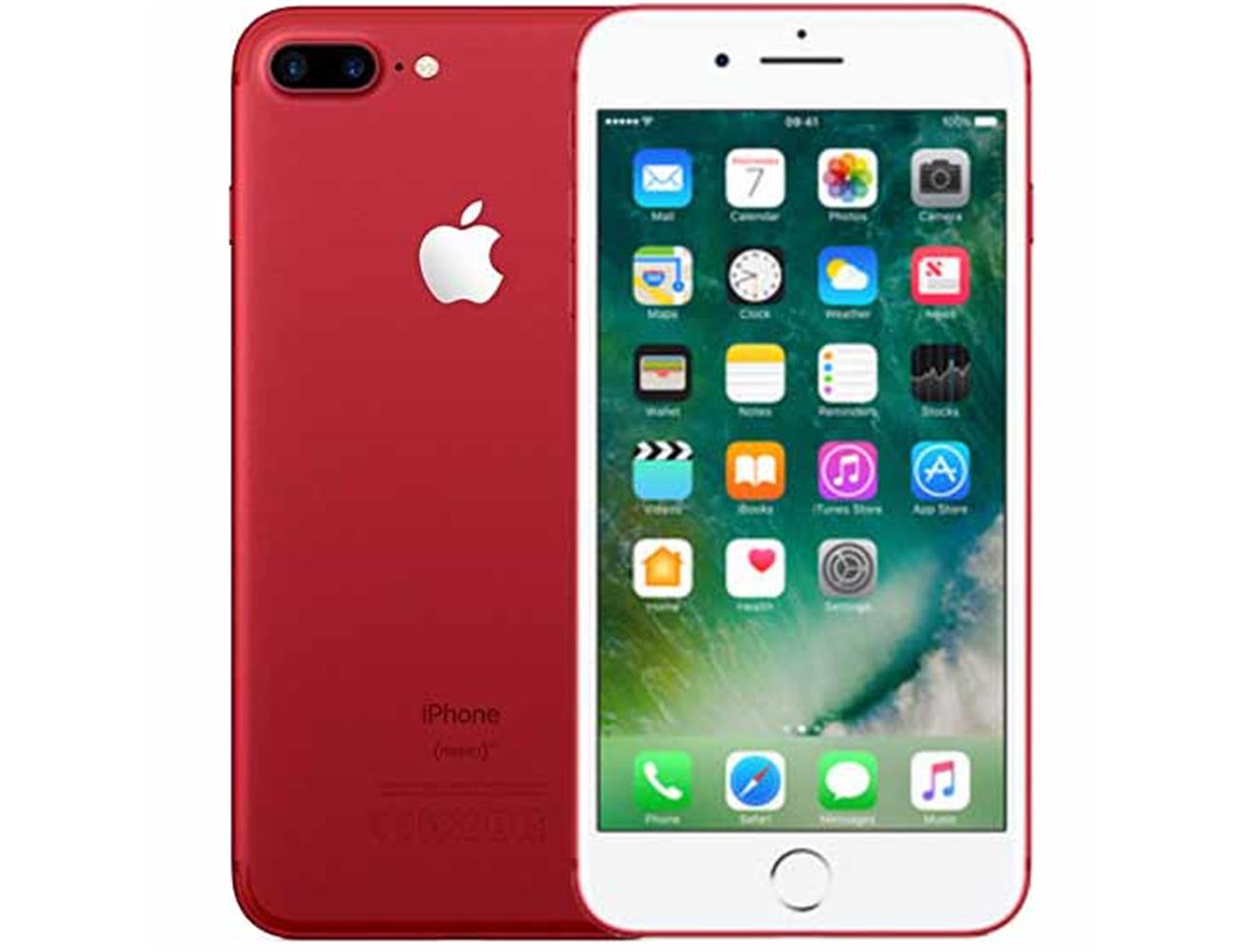 Apple iPhone 7 Plus 128GB - Red| Blink Kuwait