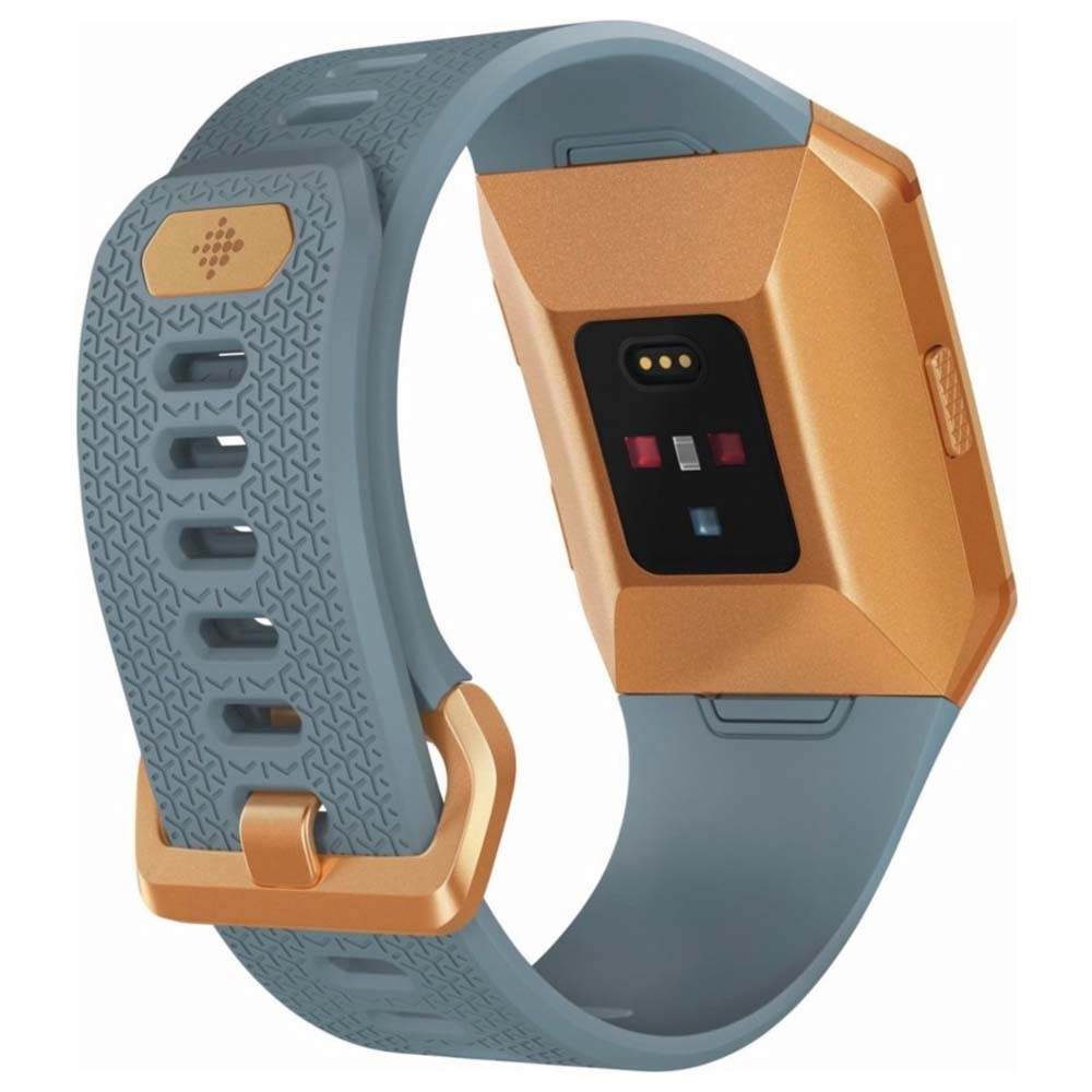 Fitbit - Ionic Smartwatch - Burnt Orange/Slate Blue| Blink Kuwait