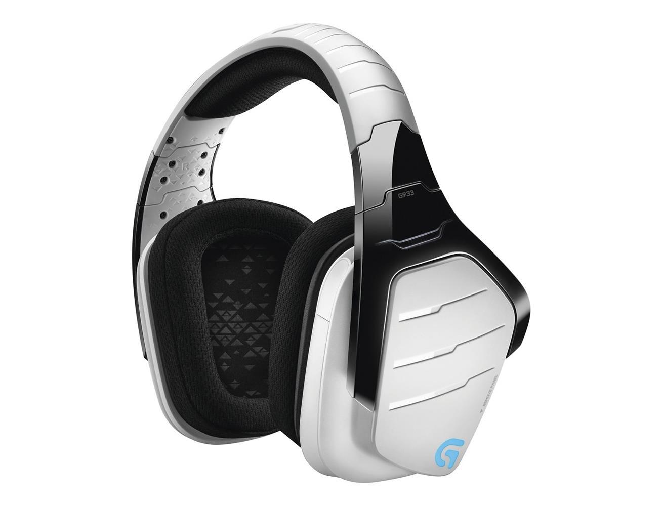 ade10c0ea2f Logitech Wireless Gaming Headset G933 Artemis Spectrum 7.1 Surround - White  ...