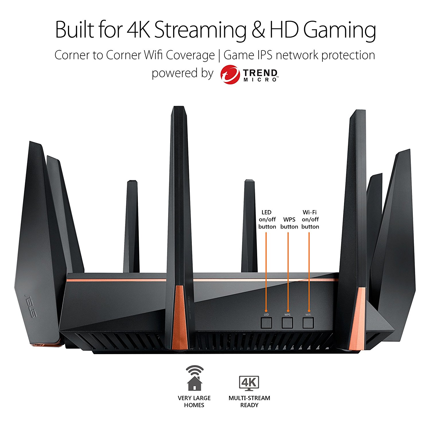 Asus ROG Rapture Wireless-AC5300 Tri-Band Router for VR