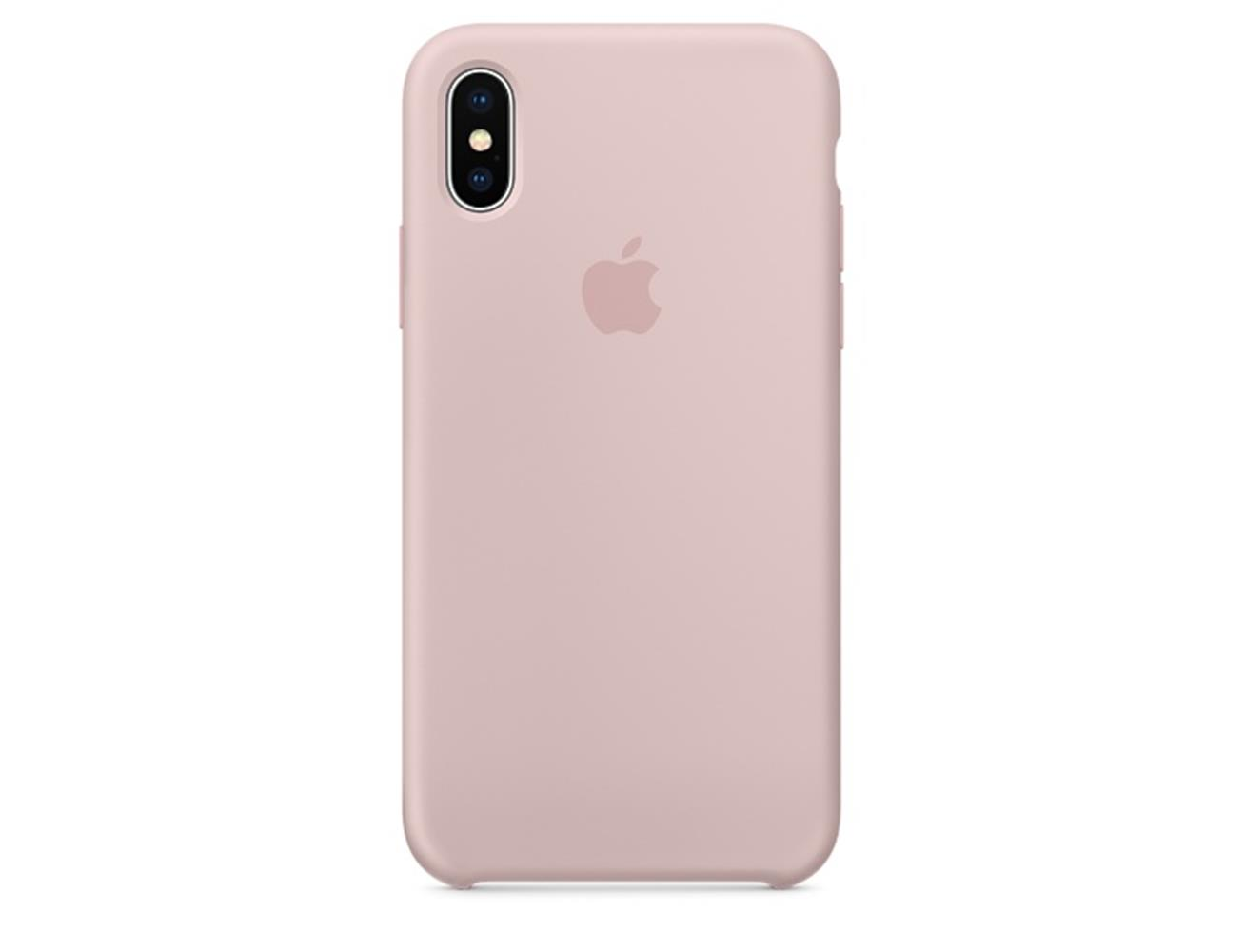 low priced ba255 73c7b Apple iPhone X/XS Silicone Case - Pink Sand| Blink Kuwait