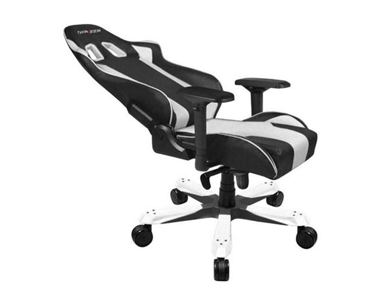DXRacer King Series Gaming Chair - Black/White| Blink Saudi