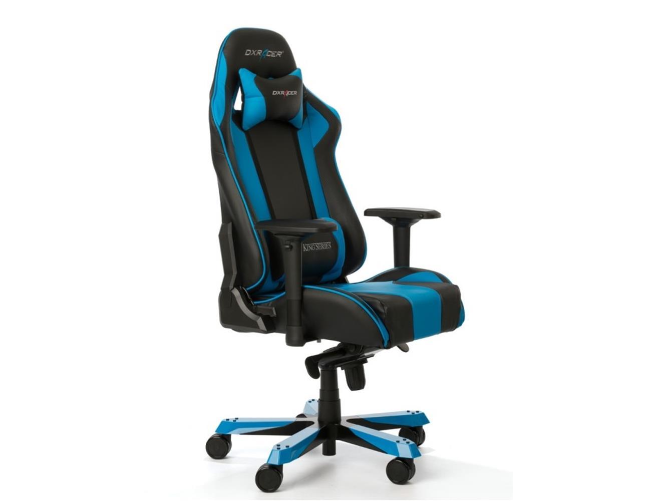 DXRacer King Series Gaming Chair - Black/Blue| Blink Kuwait