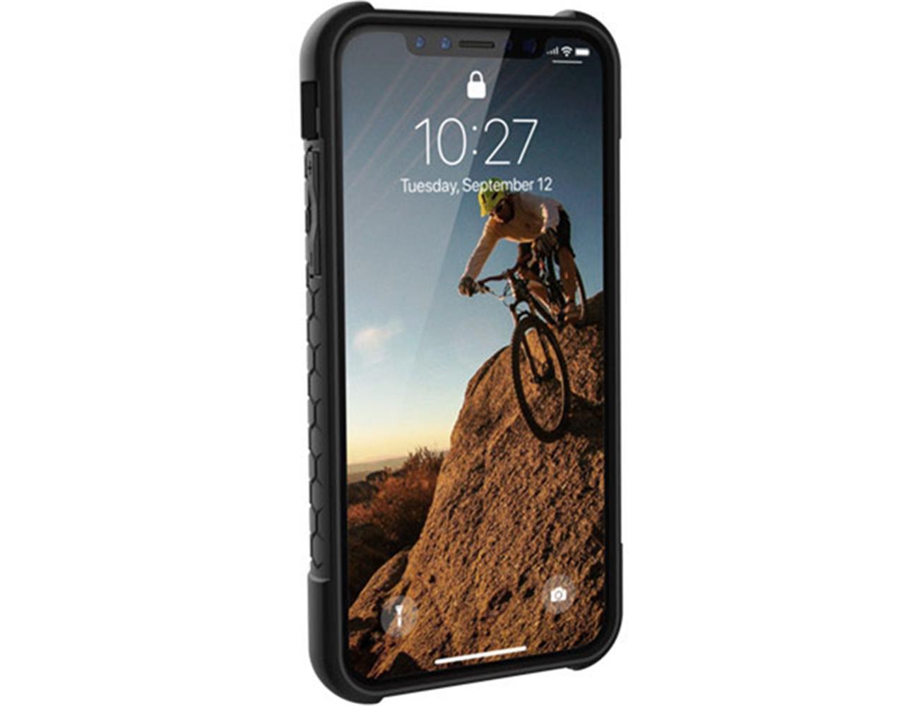 6c3b26e8693 ... UAG Urban Armor Gear iPhone X/XS Monarch Case - Platinum/Black/Silver  ...