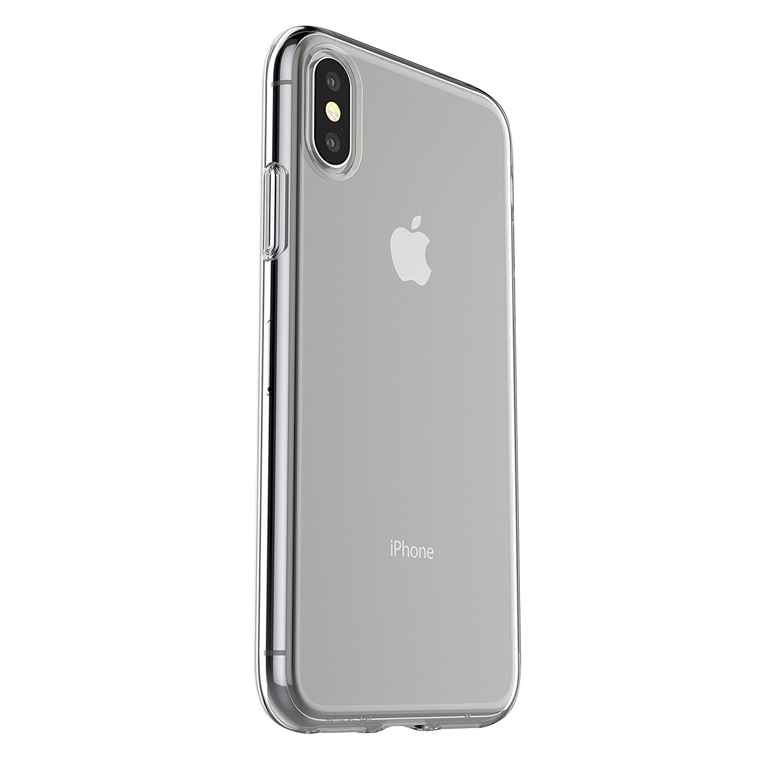 new concept 08086 ef404 Otterbox Clearly Protected Skin iPhone X/XS Clear W/ Alpha Glass ...