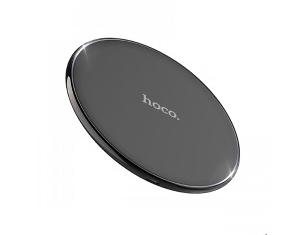 64c4aa94b37c68 Hoco CW6 Homey Wireless Charger - Black| Blink Kuwait