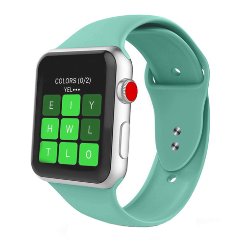 Soft Silicon Sports Band For 42 MM / 44 MM Apple Watch