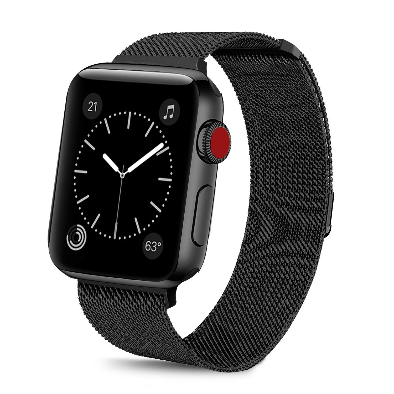 Buy Limited Edition Band For Apple Watch, Black Online in