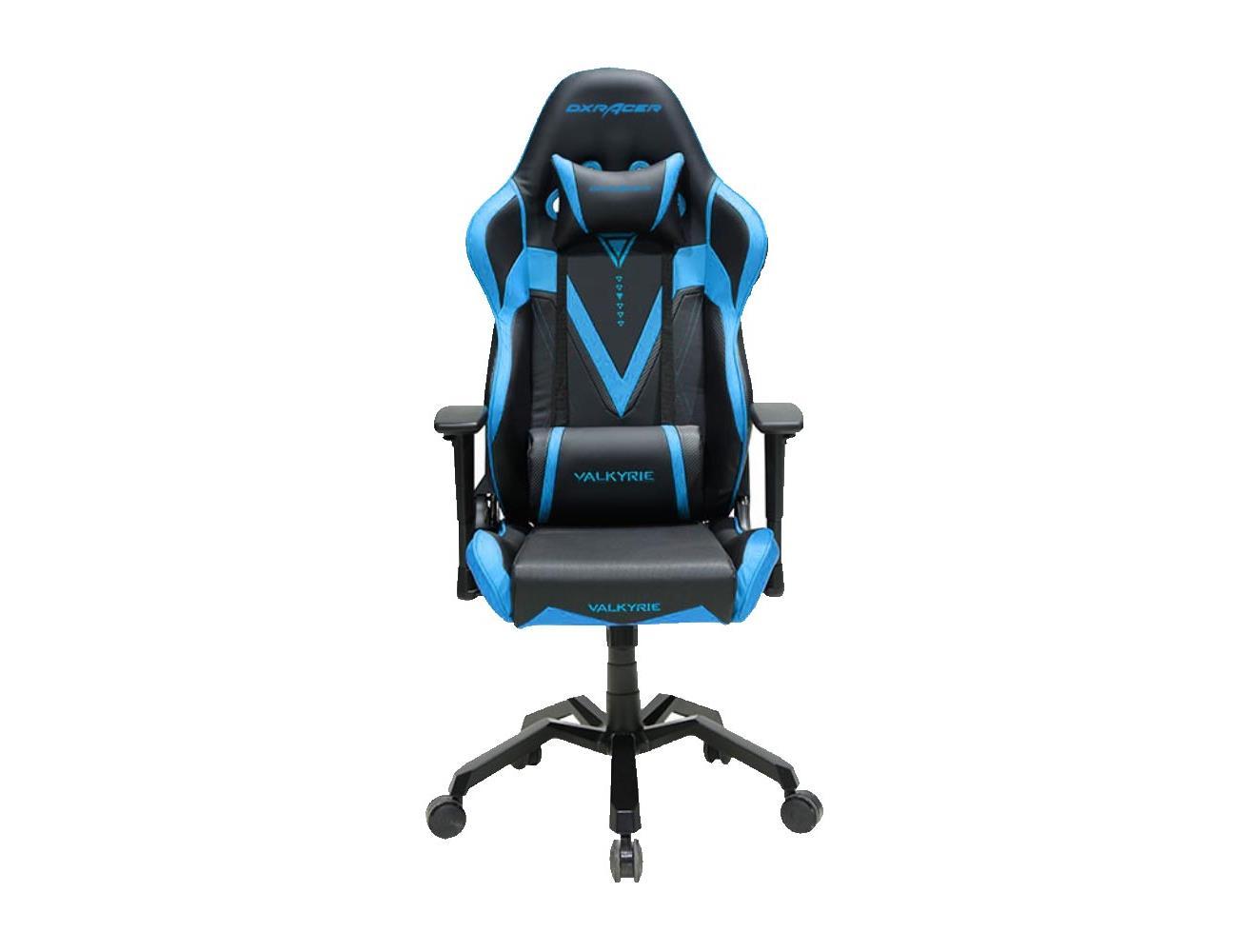 Dxracer Valkyrie Series Gaming Chair Black Blue Blink