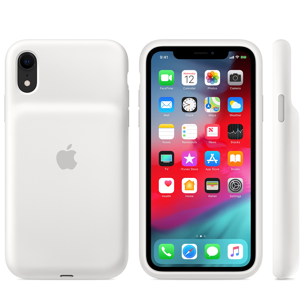 Apple iPhone XR Smart Battery Case - White| Blink Kuwait