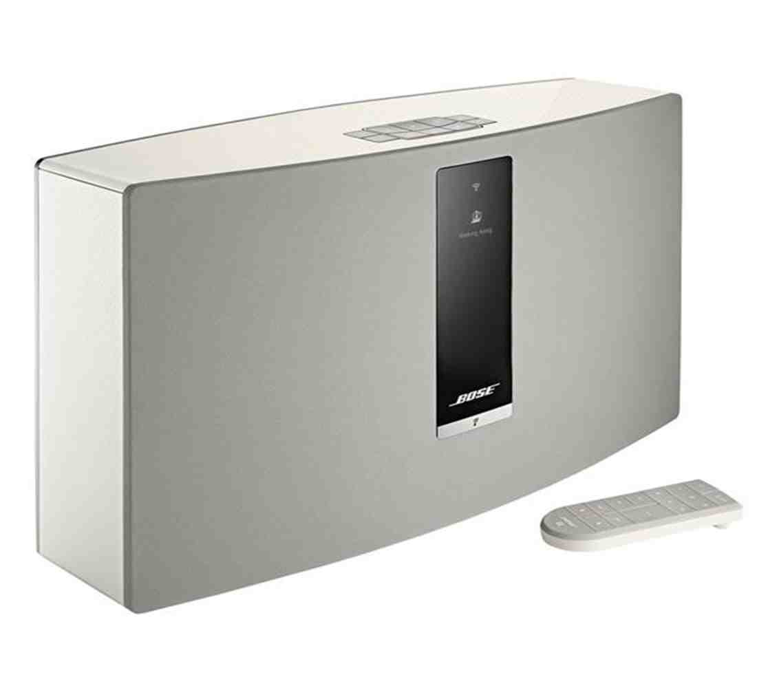 bose soundtouch 30 series iii wireless music system white blink kuwait. Black Bedroom Furniture Sets. Home Design Ideas