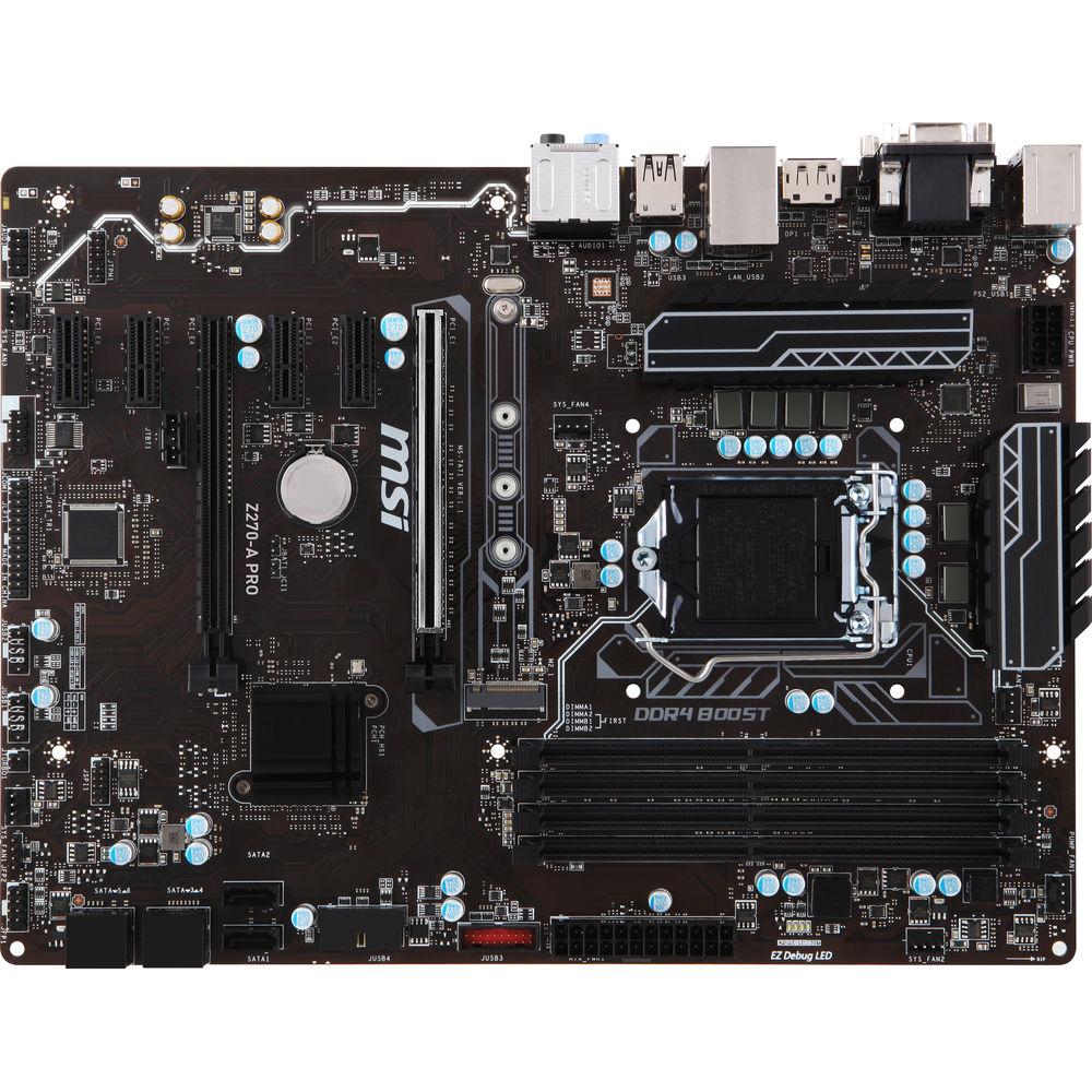 Msi Z270  Intel Z270   Ddr4   2