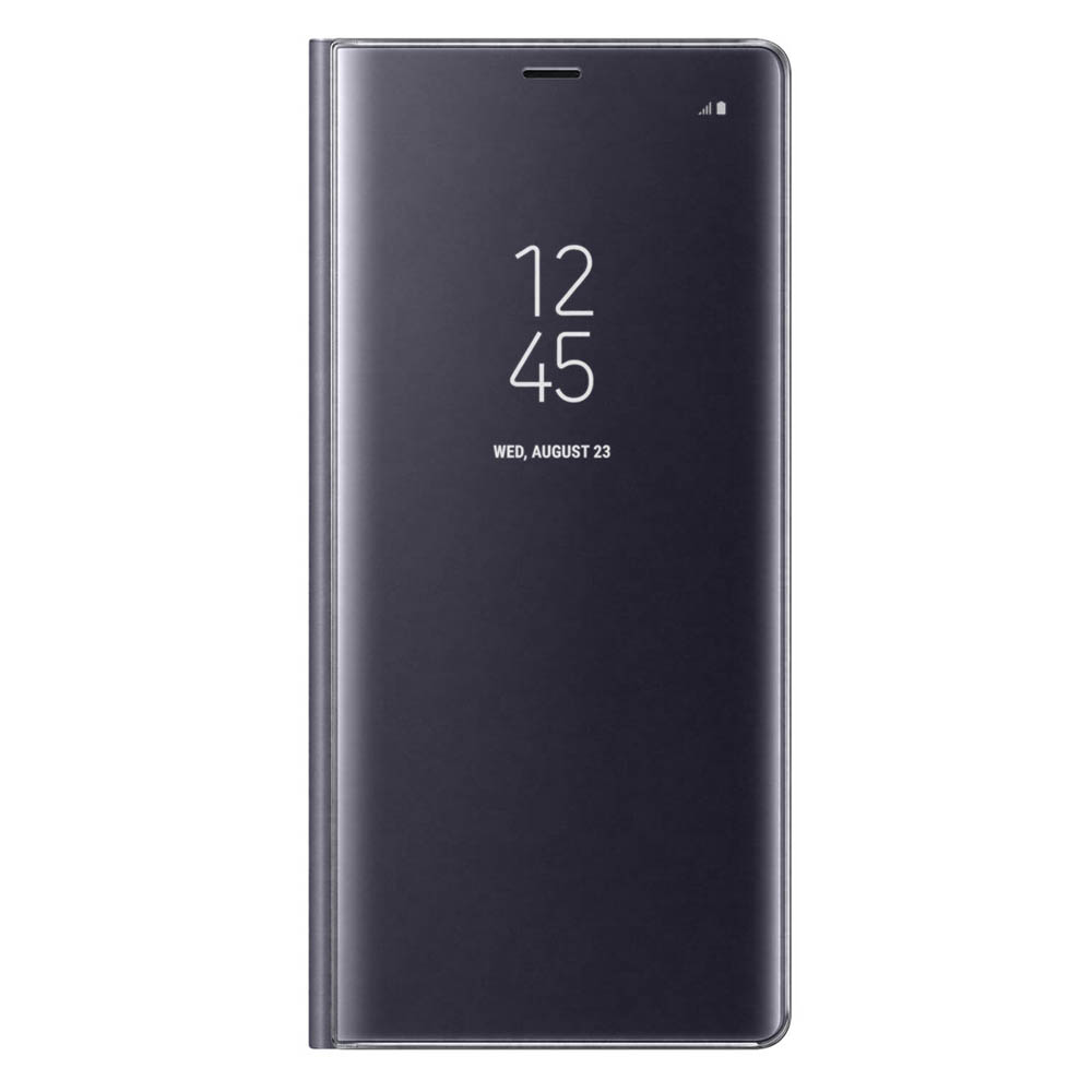 Samsung Galaxy Note 8 Clear View Standing Cover - Purple| Blink Kuwait