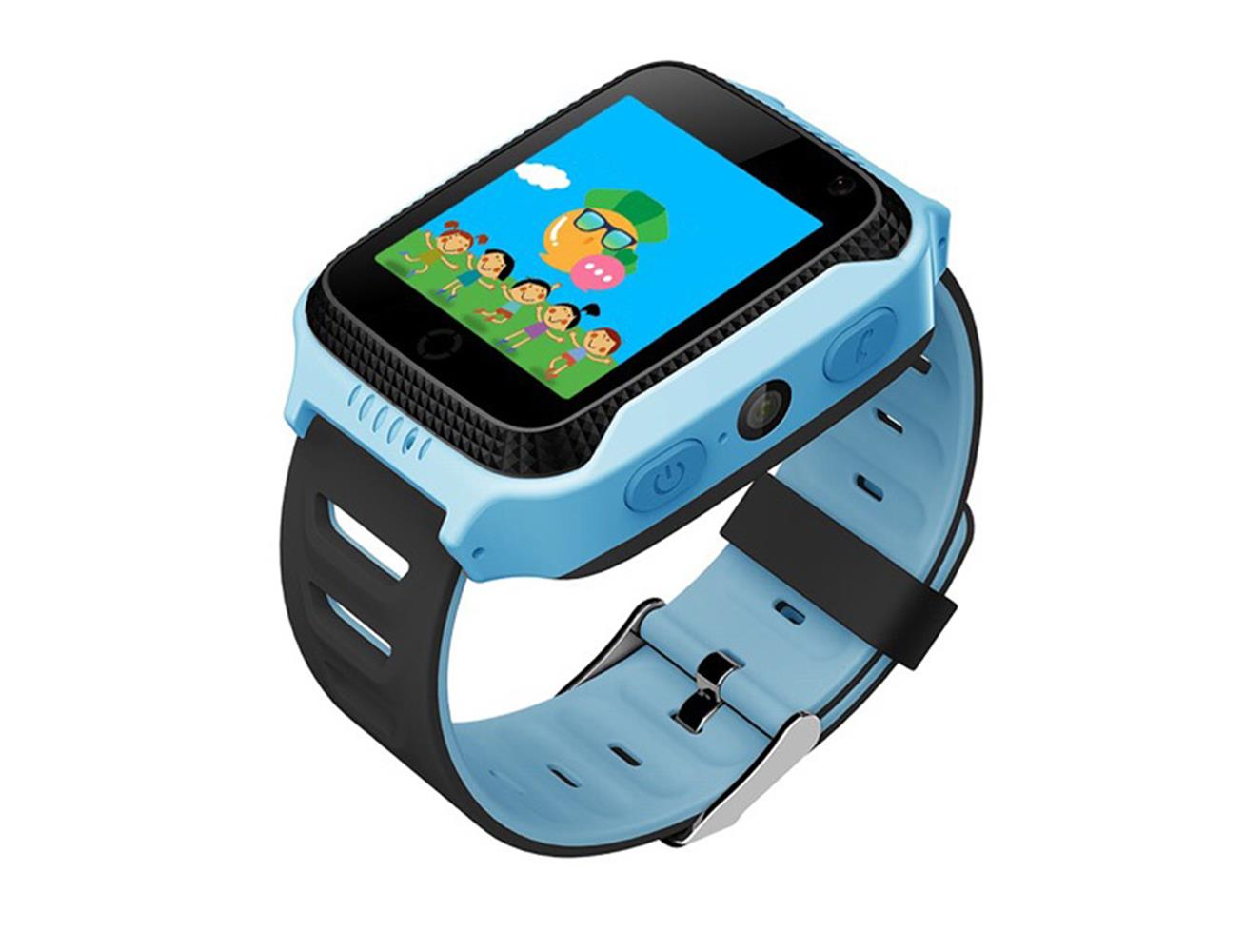 Sponge See Kids Smart Watch Gps Tracking And Camera Blue